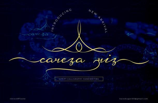 Careza Riz Script Font