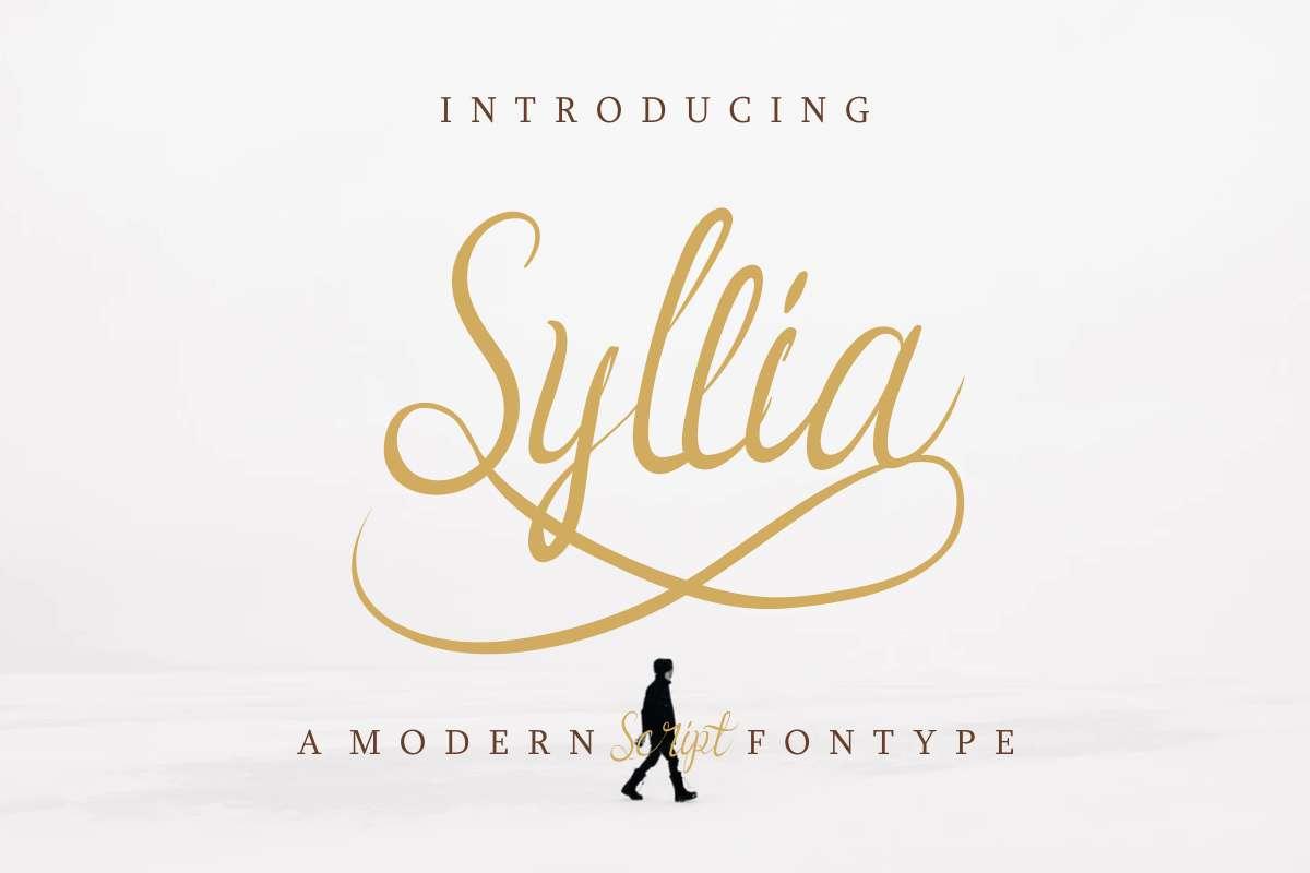 Syllia-Font