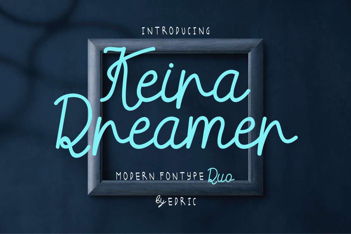 Keira-Dreamer-Font