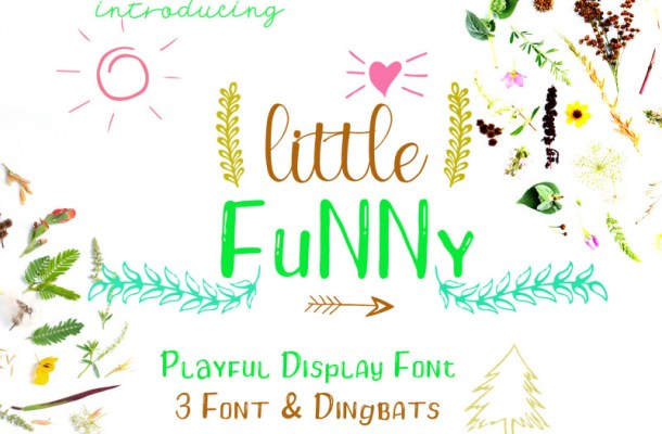 Little Funny – Include 4 Font