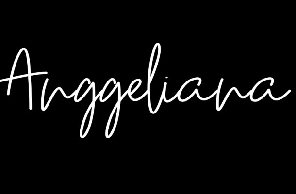 Anggeliana Script Font