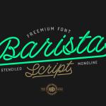 Barista Script Font