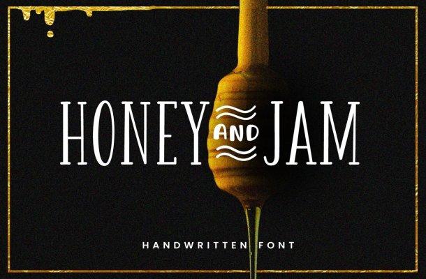 Honey & Jam Font Family