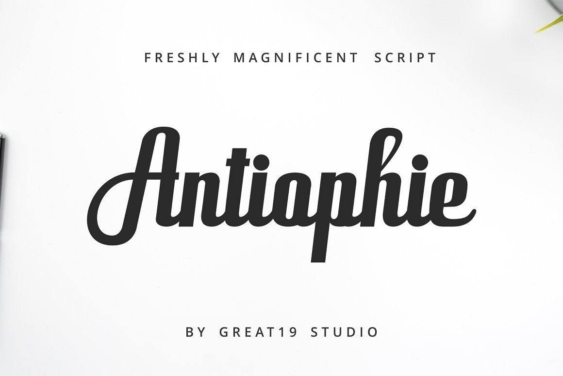 Antiophie-Font