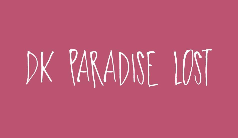 DK-Paradise-Lost-Font