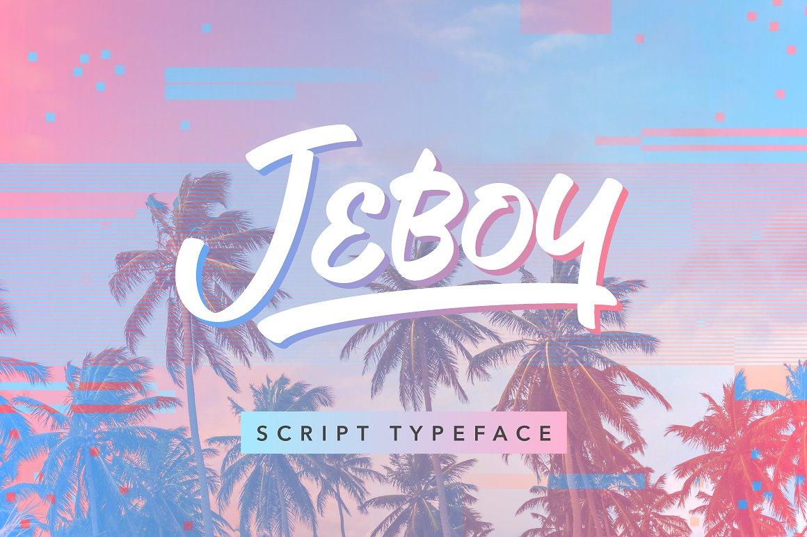 Jeboy-Font
