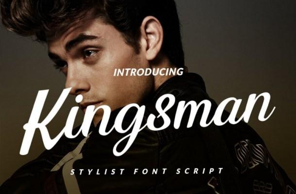 Kingsman Stylist Script Font