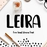 Leira Brush Font