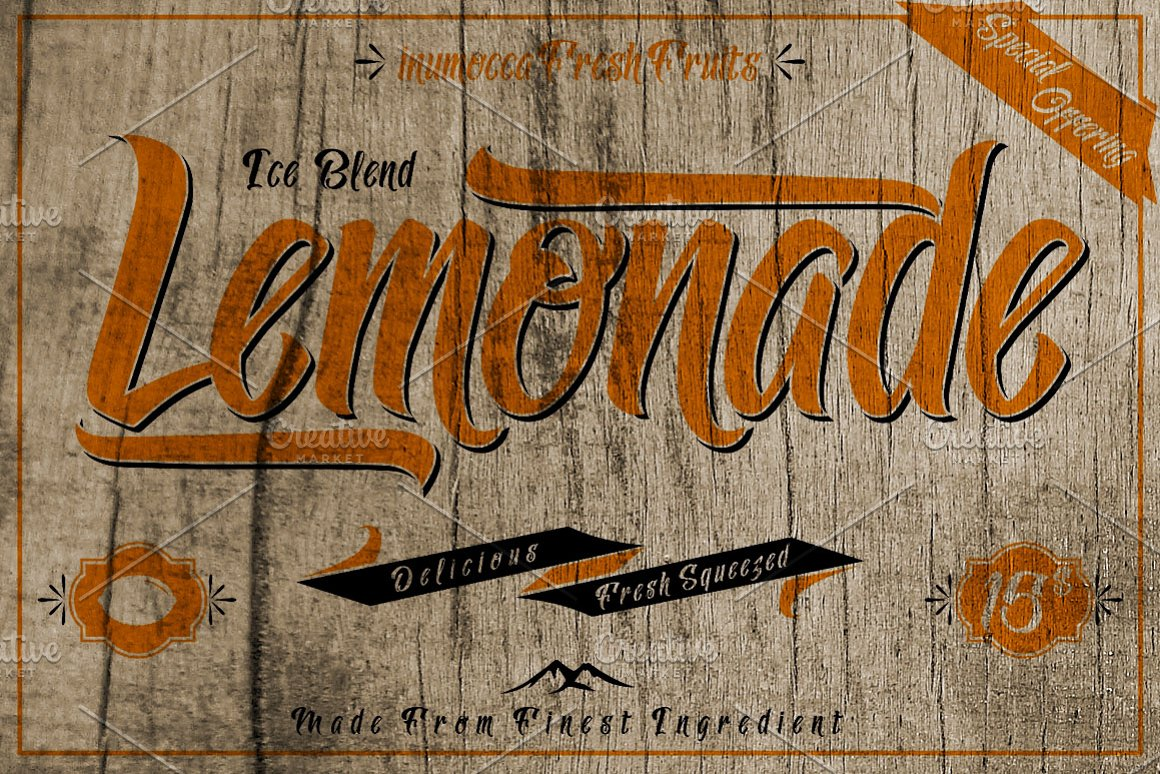 Lemonade-Font