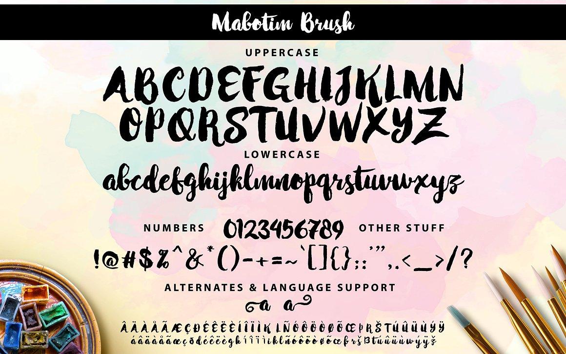 mabotim-brush-font-2