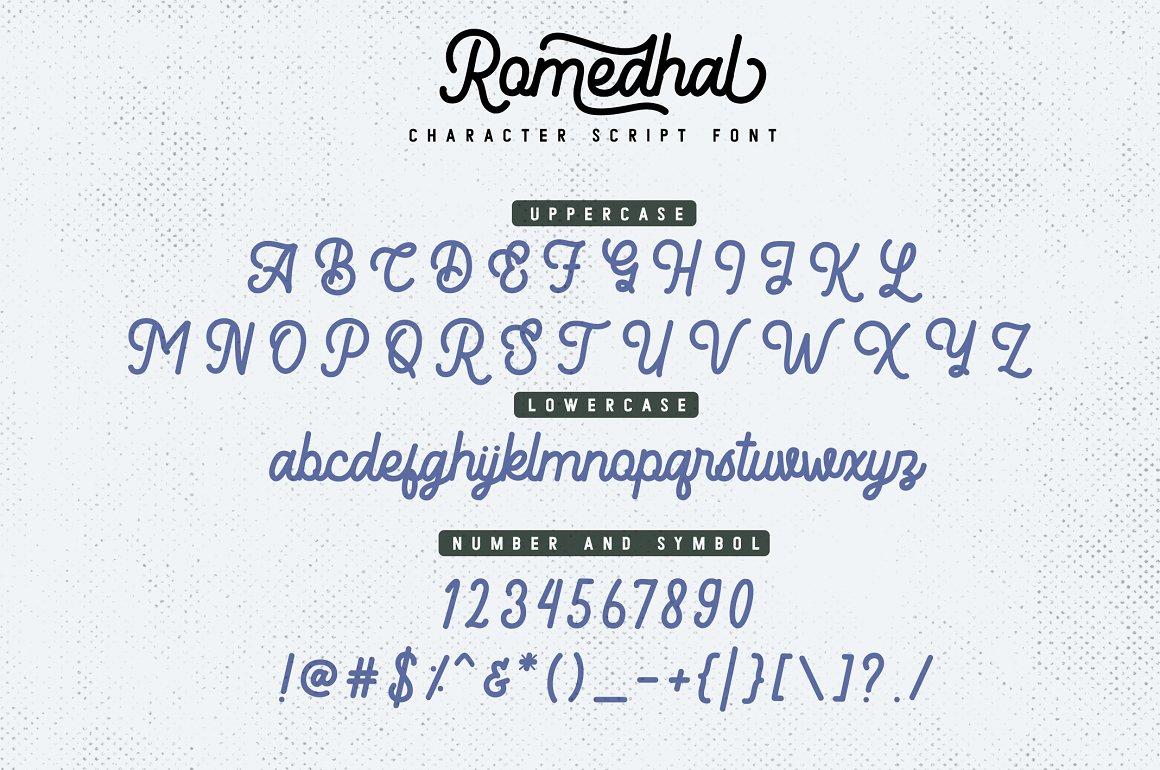 Romedhal-Font-3
