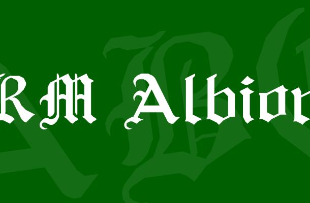 RM Albion Font