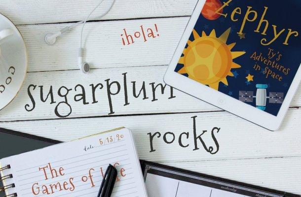 Sugarplum Font