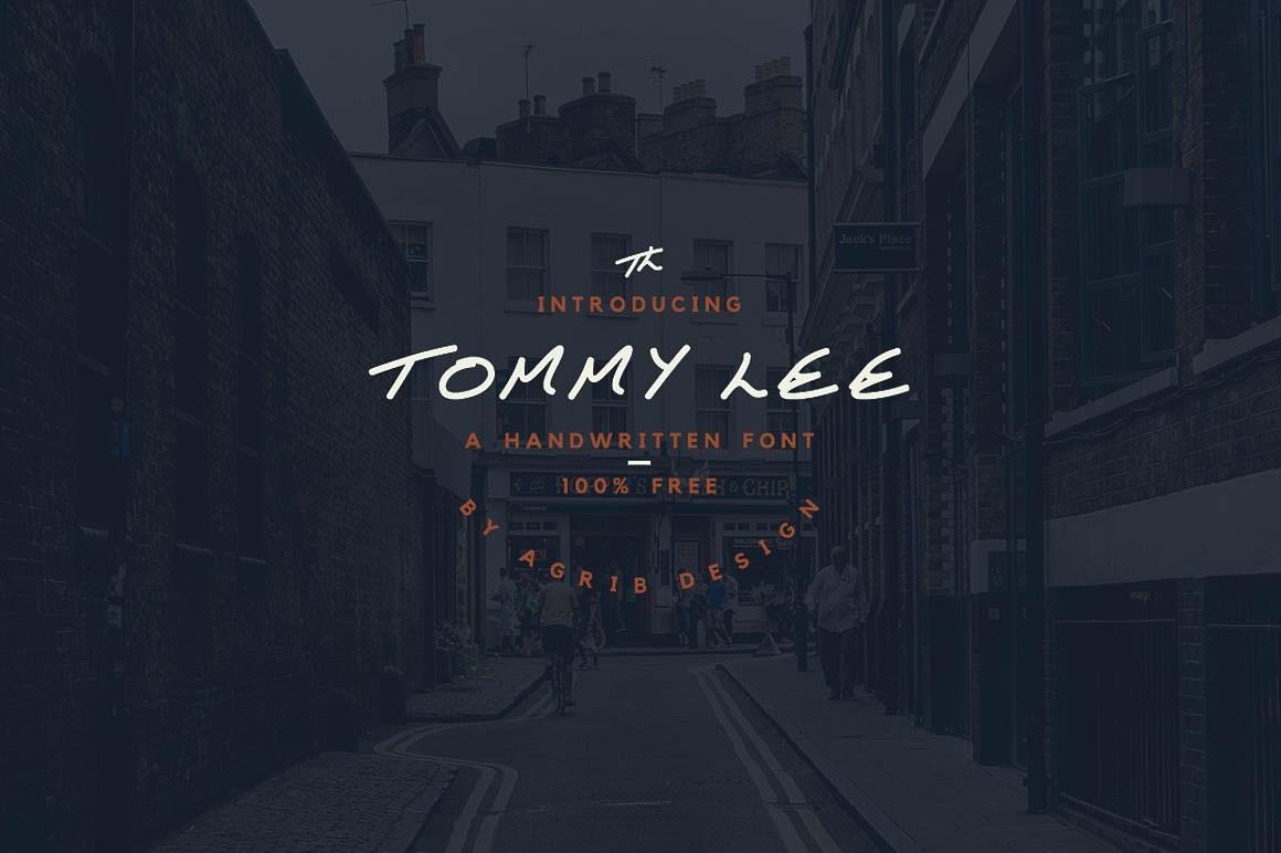 Tommy-Lee-Font