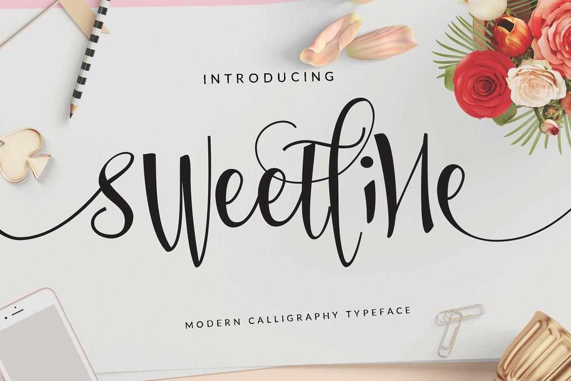 Sweetline-Font