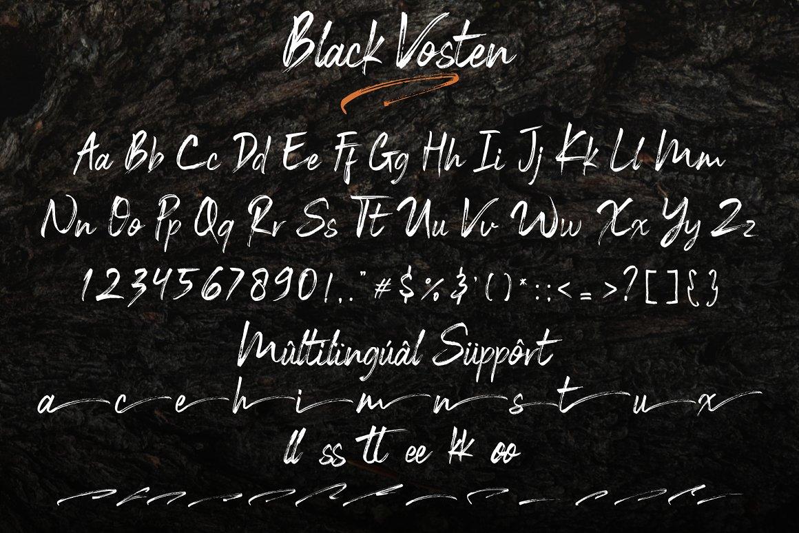 Black-Vosten-Font-3
