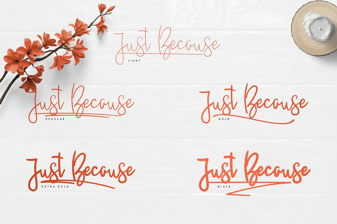 Justbecause-Font-2