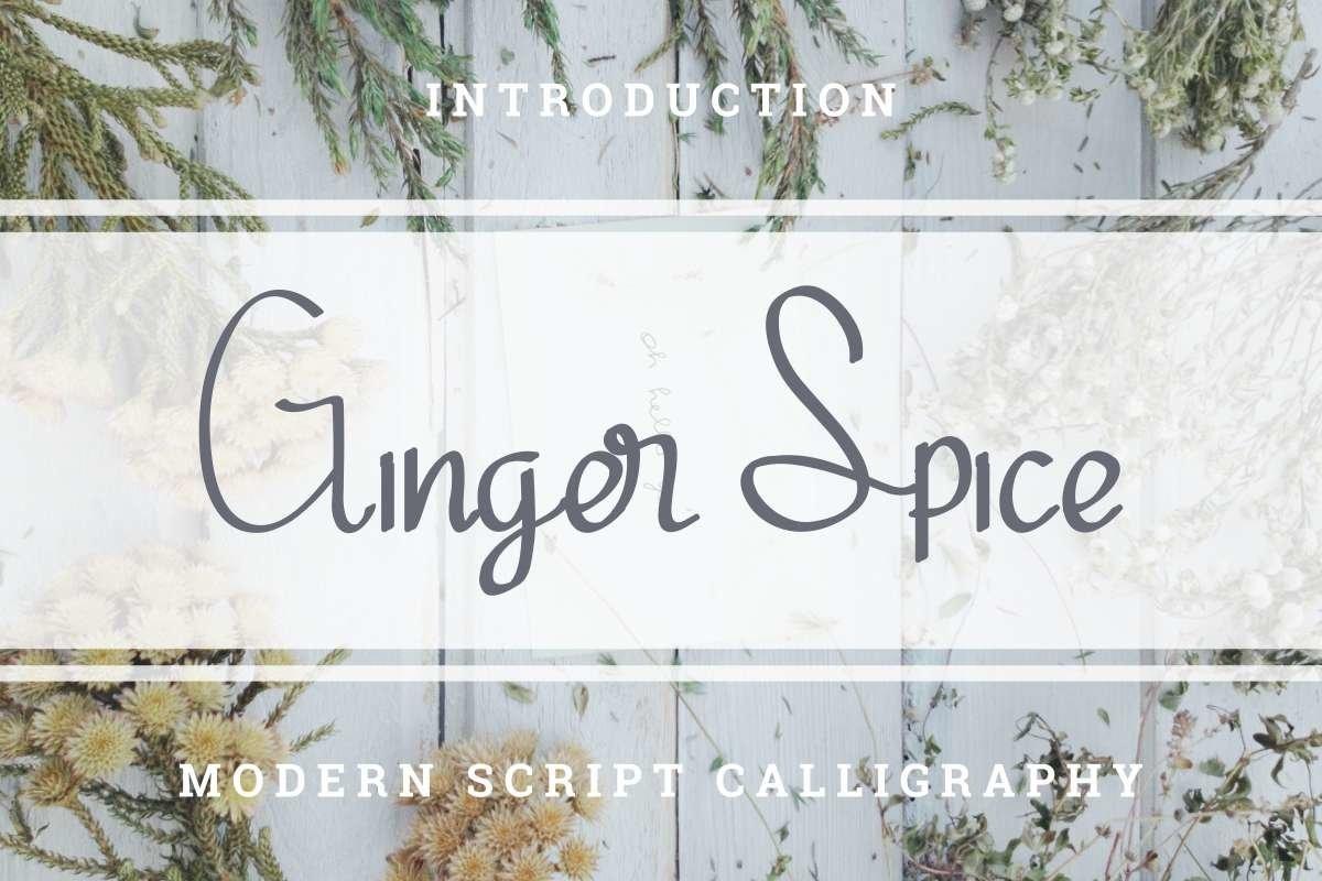 Ginger-Spice-Font