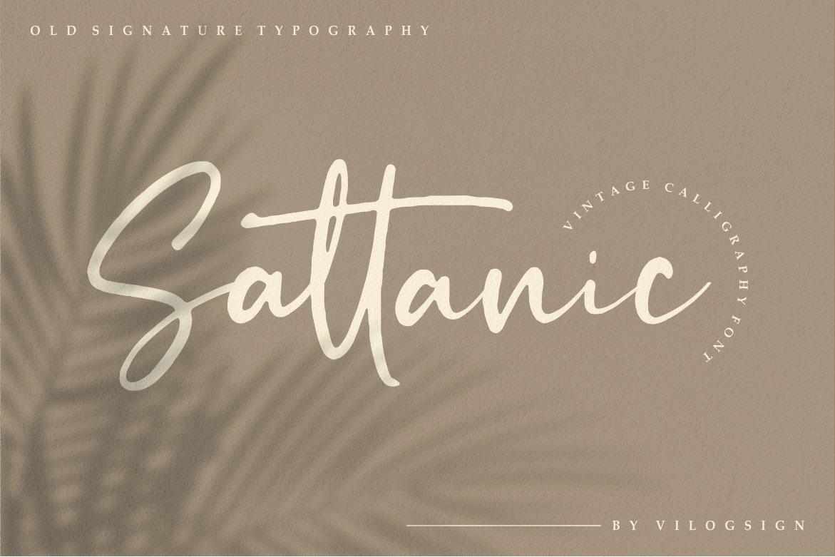 Sattanic-Font