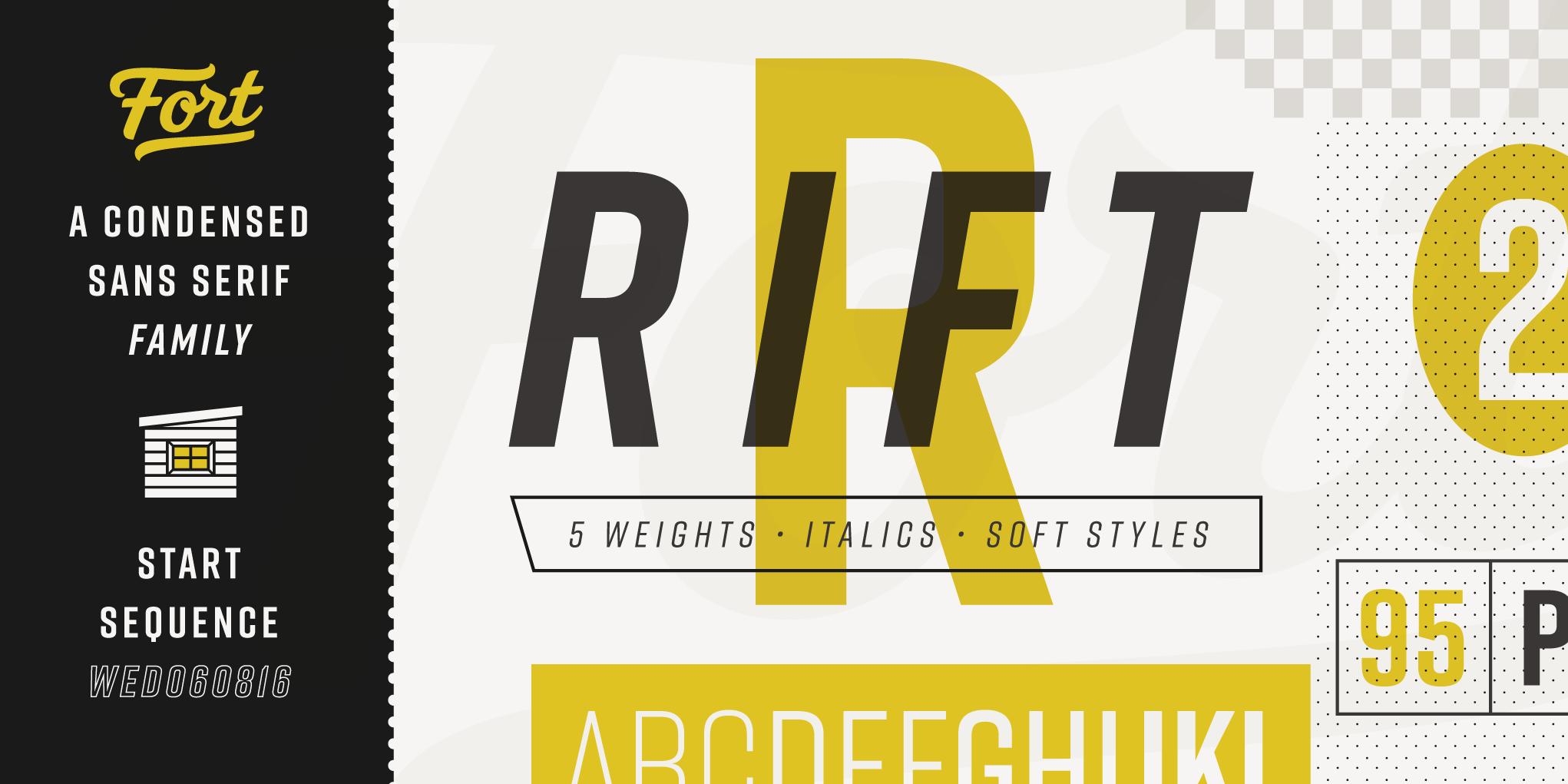 Rift-Font