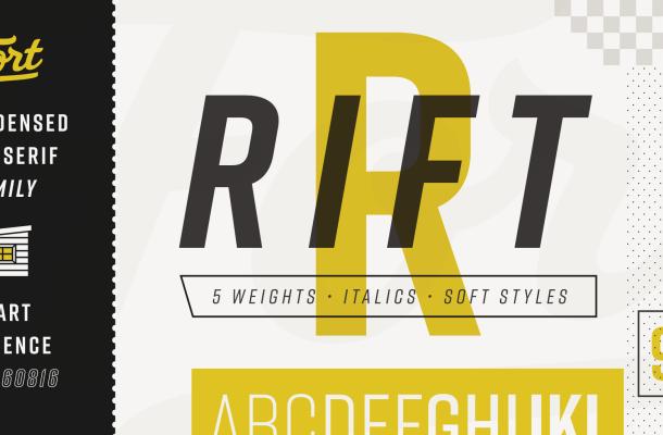 Rift Font Family