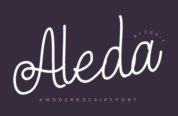 Aleda Handwritten Font