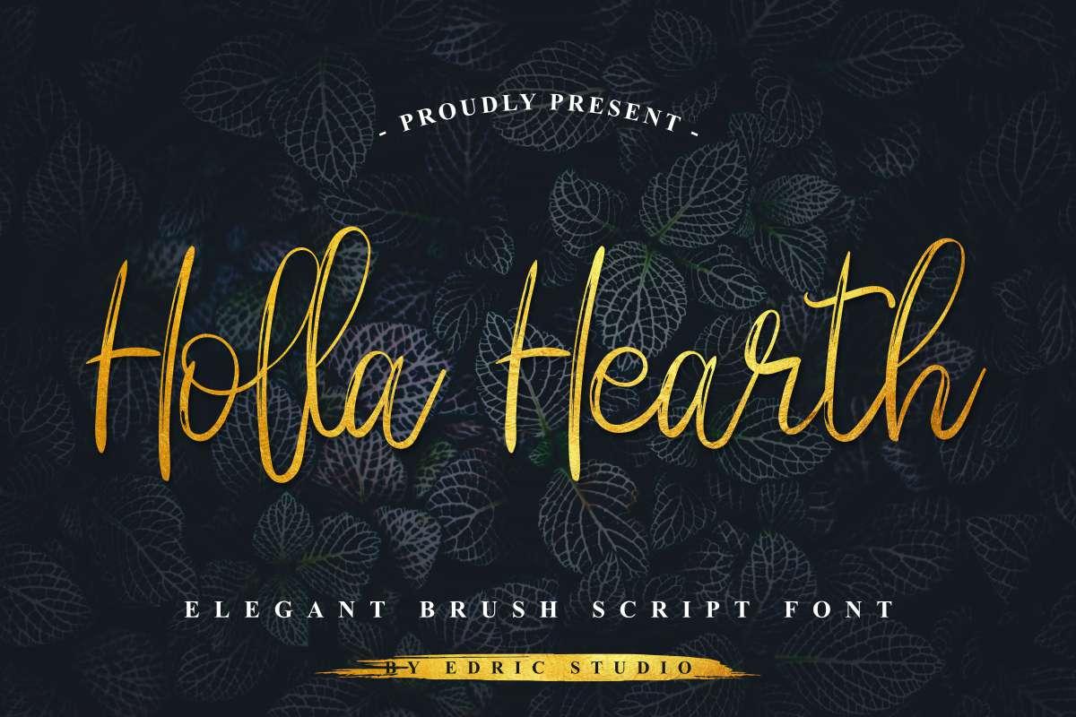 Holla-Hearth-Fonts-1-1