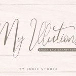 My Illutions Calligraphy Font