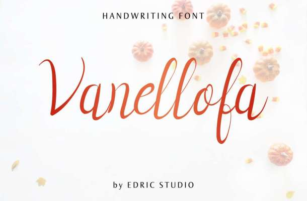 Vanellofa Handwritting Font