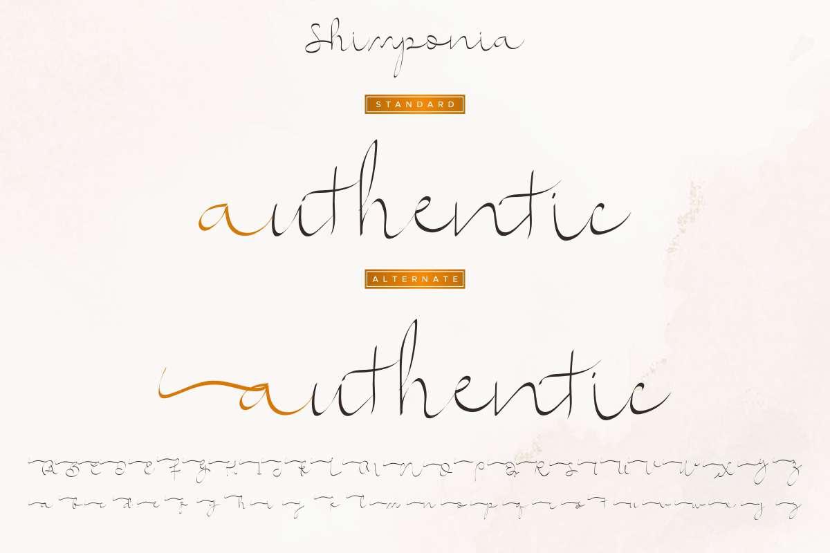 Shimponia-Font-3