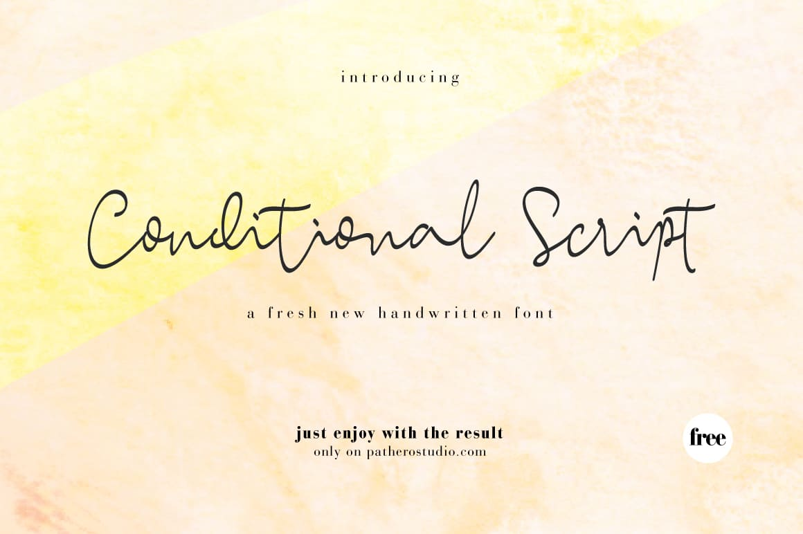 Conditional-Font