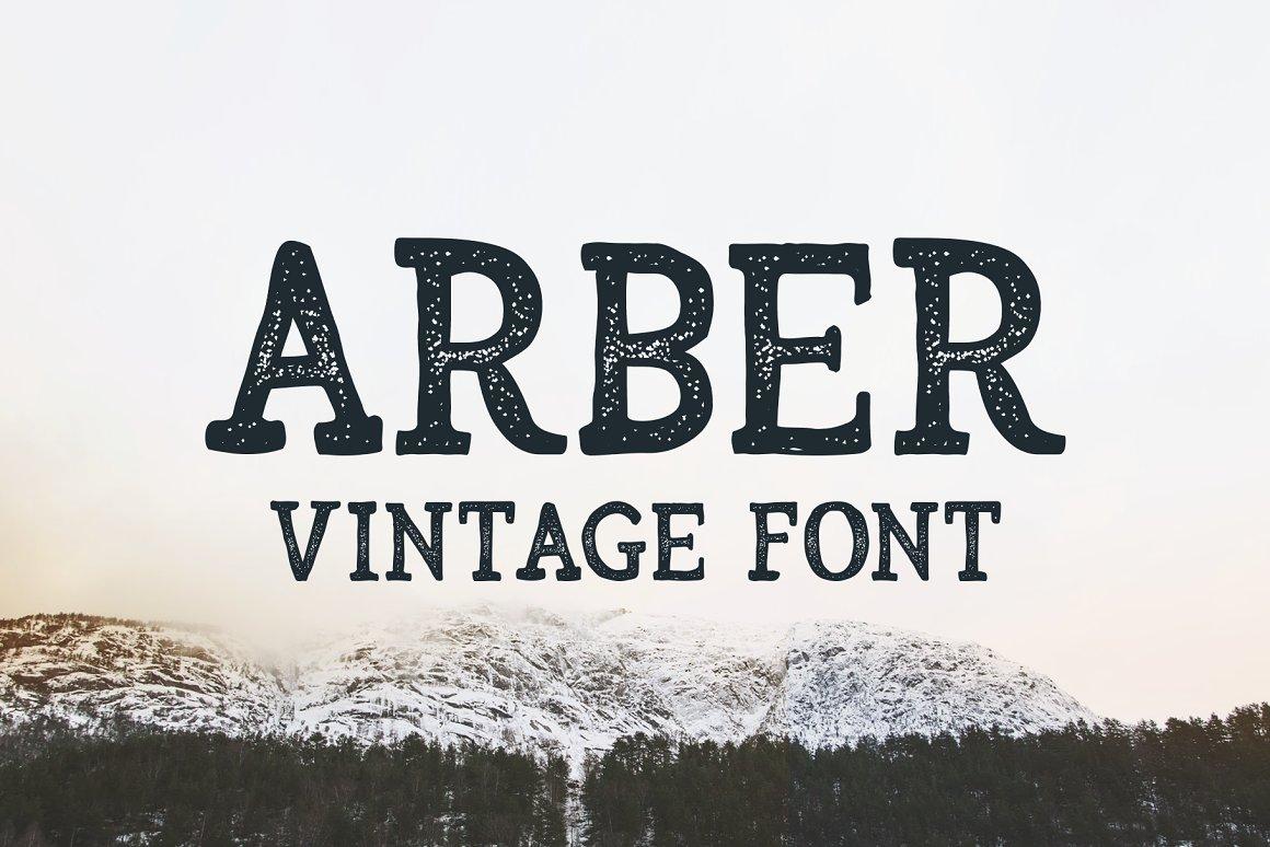 Arber- Font