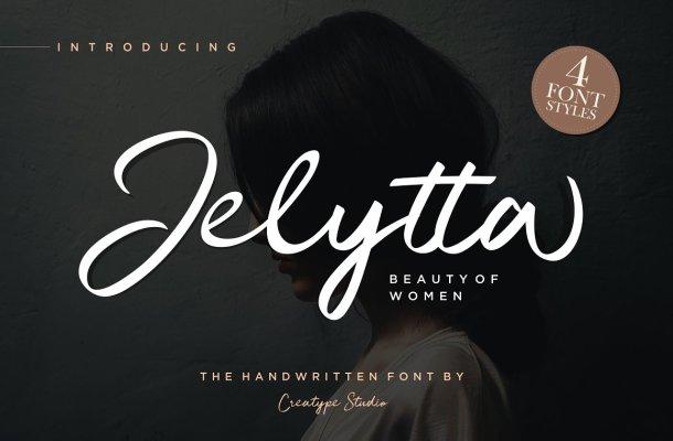 Jelytta Handwritten Font