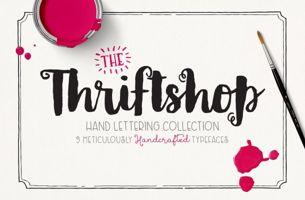 Thriftshop Font