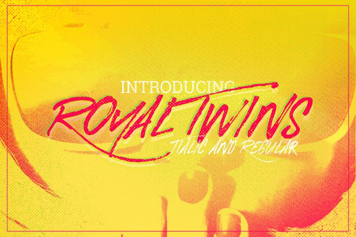 Royal-Twins-Font