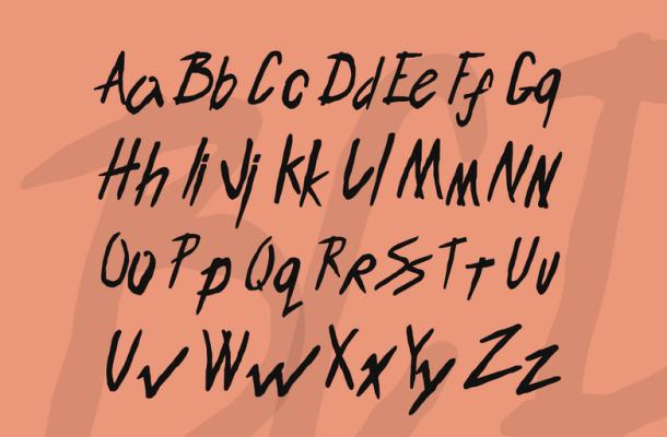 ENDLESS BUMMER Font
