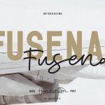 Fusena – Duos Handwritten Font