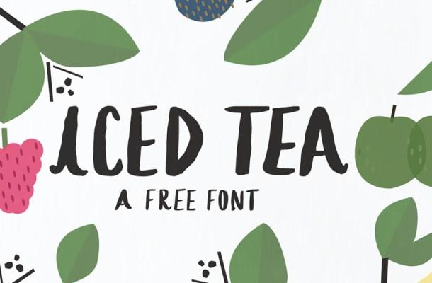 Iced Tea Font