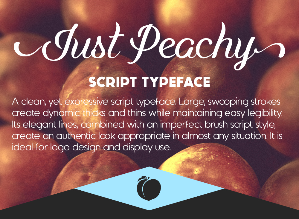 just-peachy-typeface