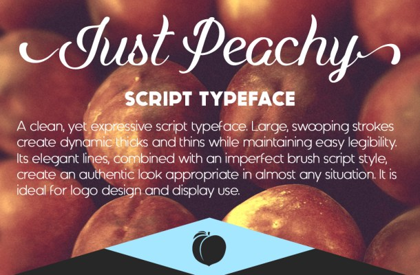 Just Peachy Font
