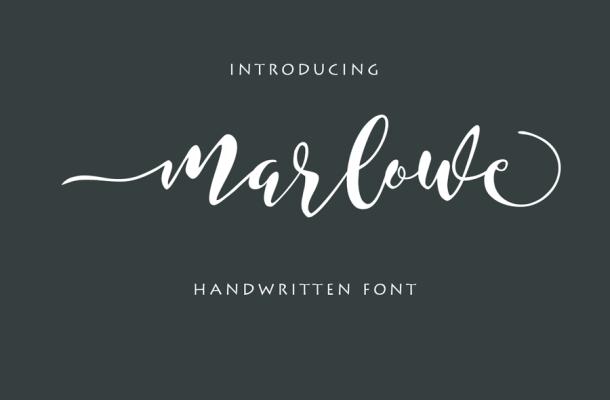 Marlowe Script Font