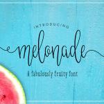 Melonade Script Font
