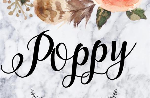 Poppy Script Font