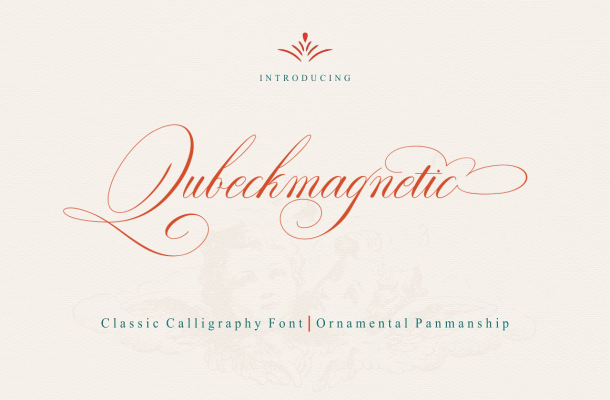 Qubeckmagnetic Script Font