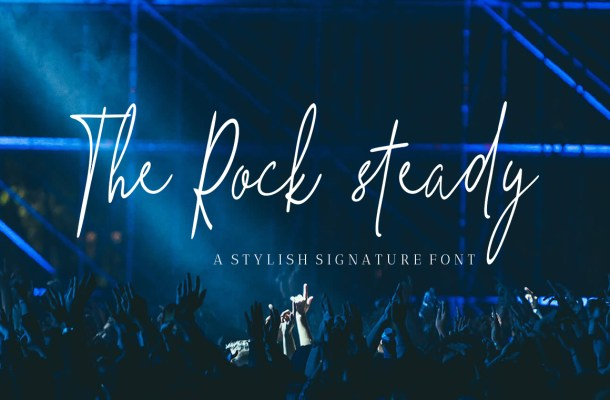 The Hand Style Script Font