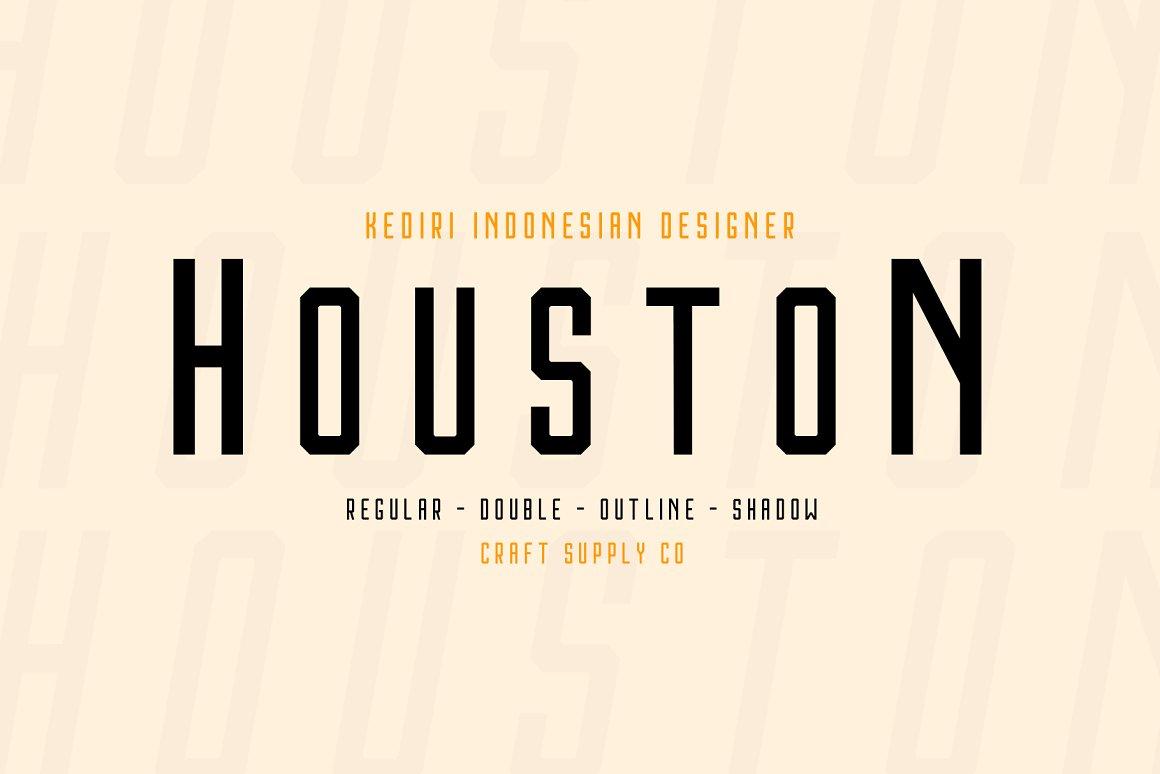 Houston-Font