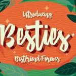 Besties Script Font