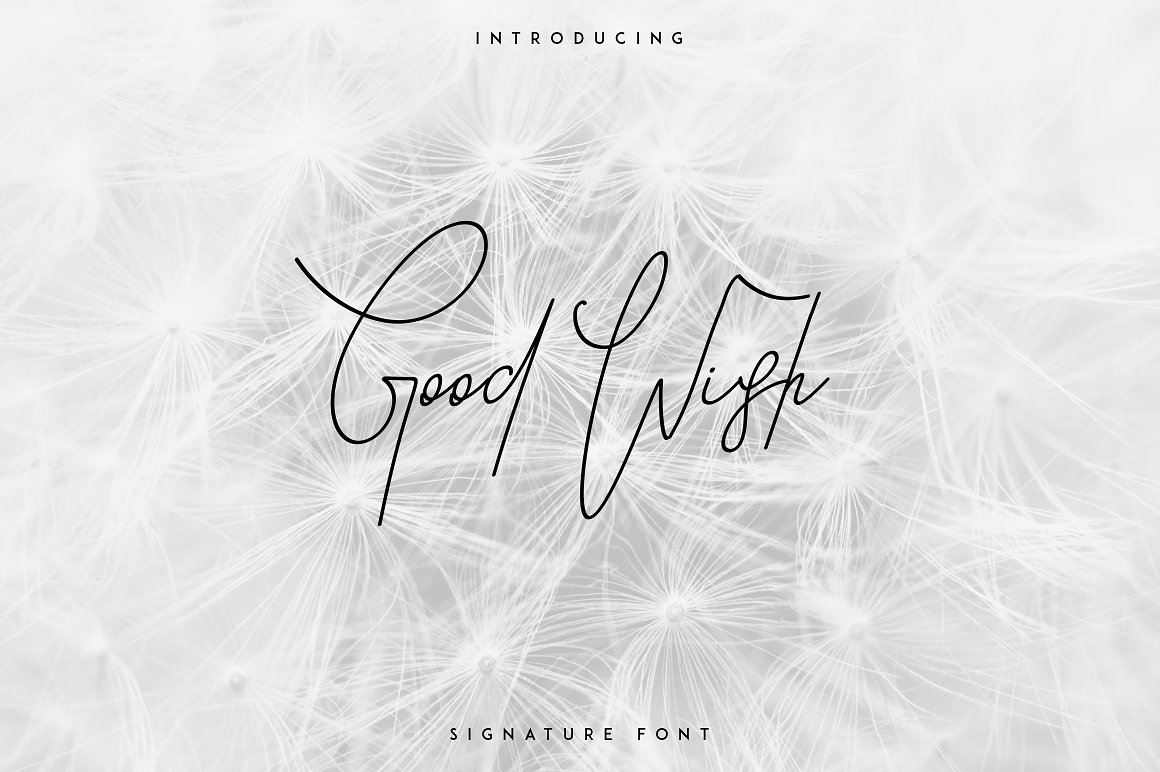 Good-Wish-Font