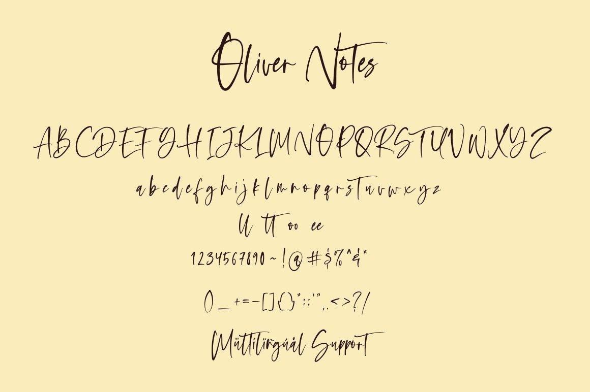 Oliver-Notes-Font-3