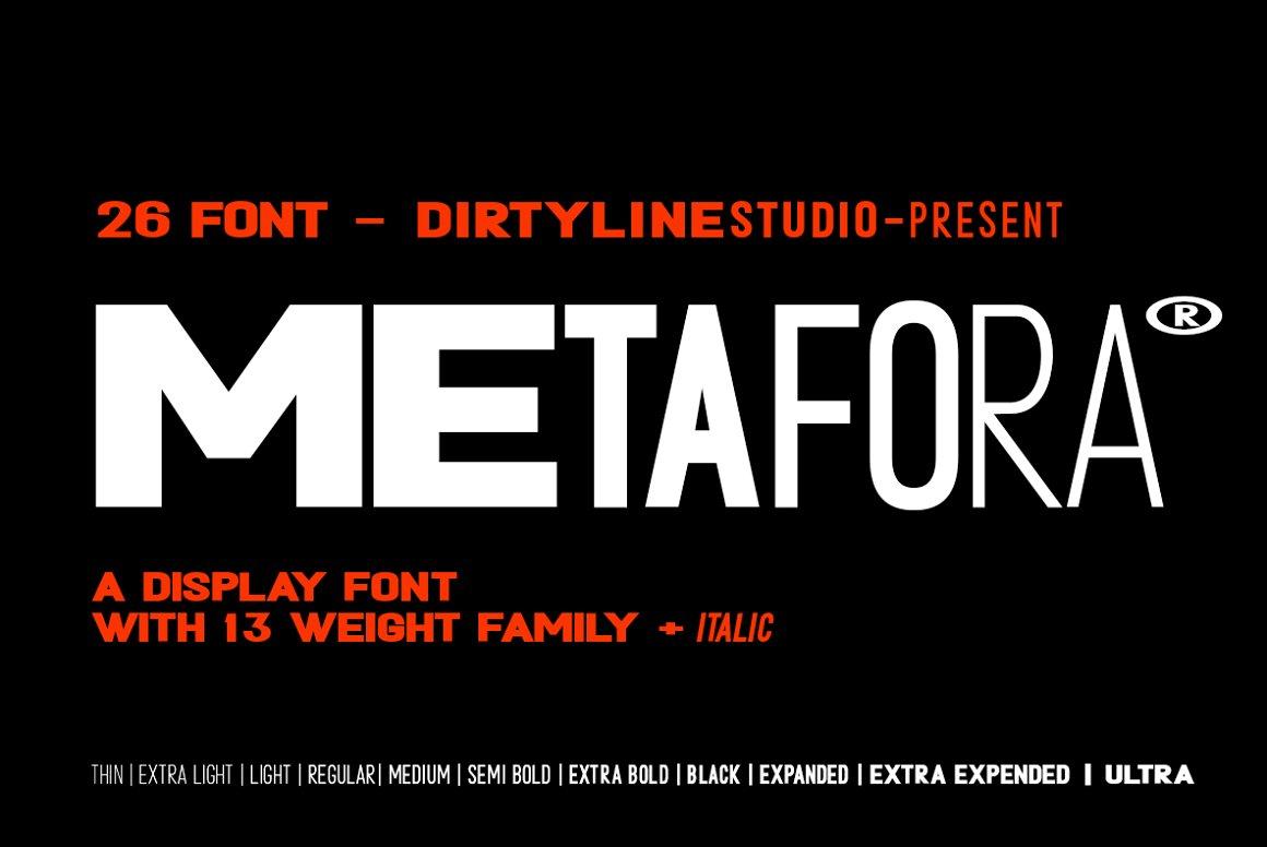Metafora-Font